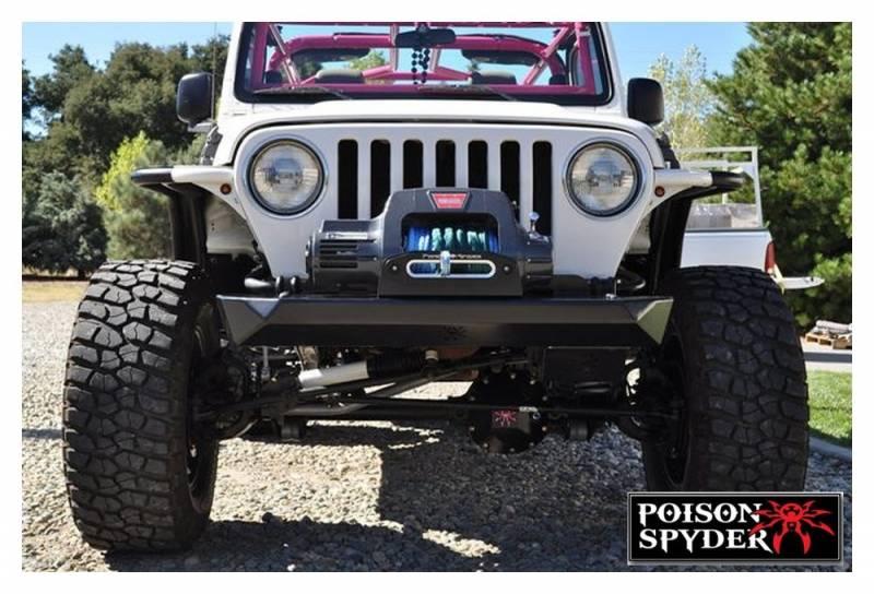 Poison Spyder Customs 14 59 010 Tj Lj Rockbrawler Front Bumper