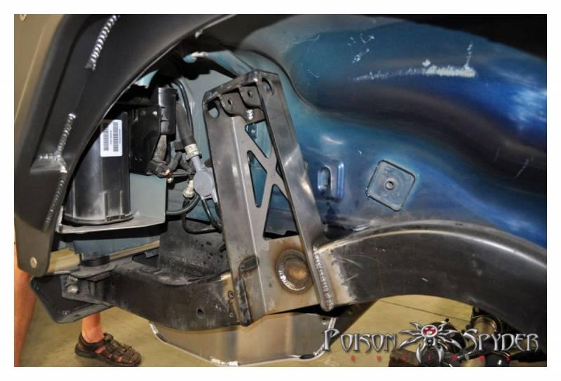 Poison Spyder Customs 14 51 010 Tj Front Upper Coilover