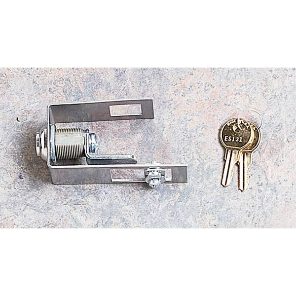 Wrangler 11252.04 Rugged Ridge 11252.04 Hood Lock Kit Fits 98-06 Wrangler LJ