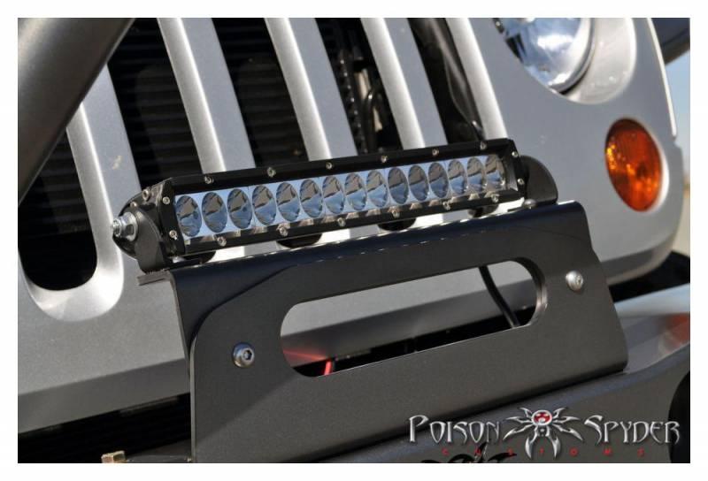 Poison spyder customs 45 28 r10 10 rigid led light bar hawse your selected product aloadofball Images