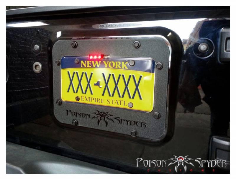Poison Spyder Customs 18 04 011 JK Tramp Stamp Powdercoated