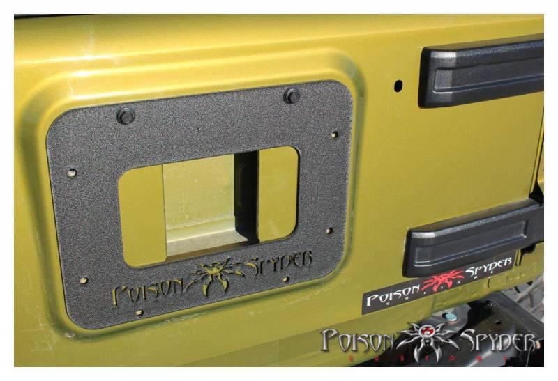 Poison Spyder Customs 18 04 012 01 JK Tramp Stamp II Wide Vent