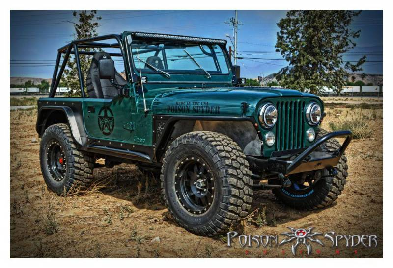 Poison Spyder Customs 45 12 R50 Cj Yj 50 Quot Light Bar Mount