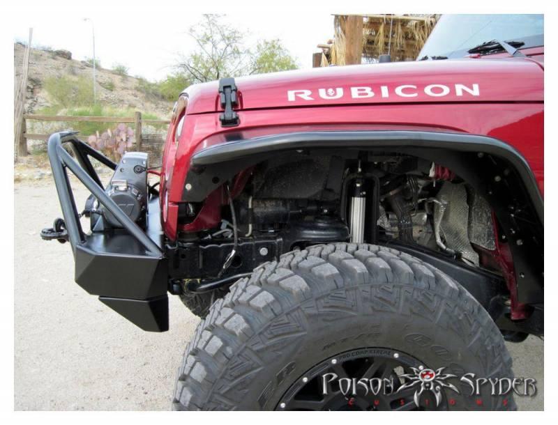 Poison Spyder Customs 17 59 010 Dbt Jk Brawler Lite Front
