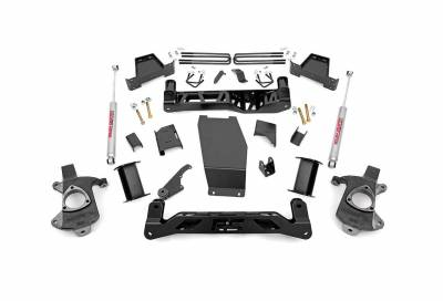 """Rough Country Suspension Systems - Rough Country 229.20 7.5"""" Suspension Lift Kit"""