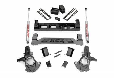 """Rough Country Suspension Systems - Rough Country 247.22 5.0"""" Suspension Lift Kit"""