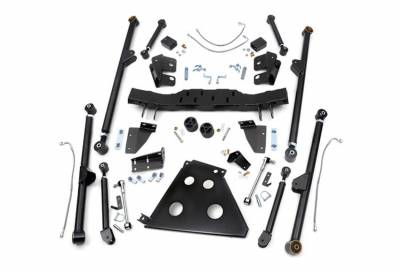 """Rough Country Suspension Systems - Rough Country 781 X-Flex Long Arm Upgrade Kit fits 4.0""""-6.0"""" Lifts"""