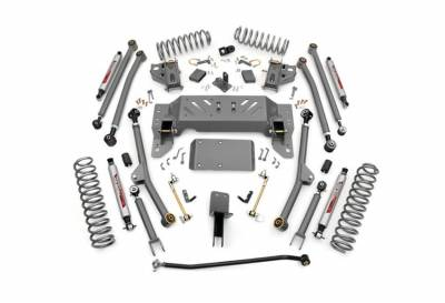"""Rough Country Suspension Systems - Rough Country PERF905 4.0"""" X-Series Long Arm Suspension Lift Kit"""