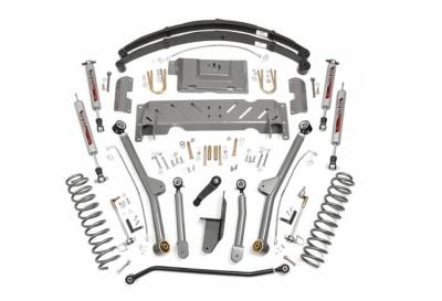 """Rough Country Suspension Systems - Rough Country PERF617 4.5"""" X-Series Long Arm Suspension Lift Kit"""