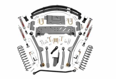 """Rough Country Suspension Systems - Rough Country PERF672 6.5"""" X-Series Long Arm Suspension Lift Kit"""