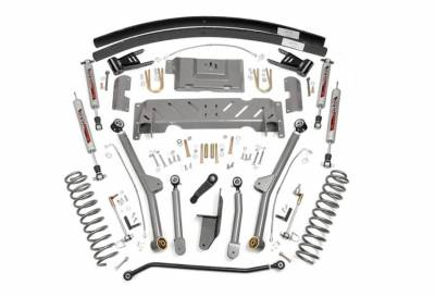 """Rough Country Suspension Systems - Rough Country PERF689 4.5"""" X-Series Long Arm Suspension Lift Kit"""