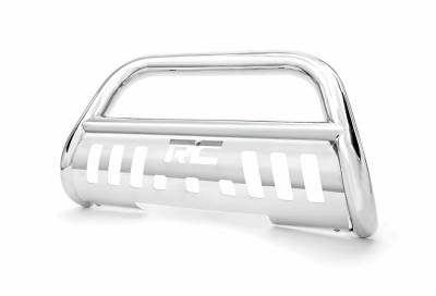 Rough Country Suspension Systems - Rough Country B-D1941B Bull Bar Bumper Guard Stainless Steel