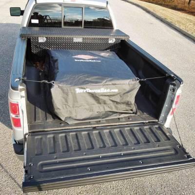Tuff Truck Bag - Tuff Truck Bag TTB-B Waterproof Truck Bed Cargo Bag Carrier - Black