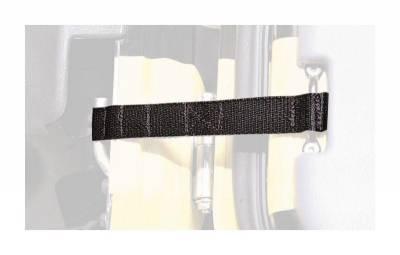 Smittybilt - Smittybilt 769401 Adjustable Door Check Straps-Pair