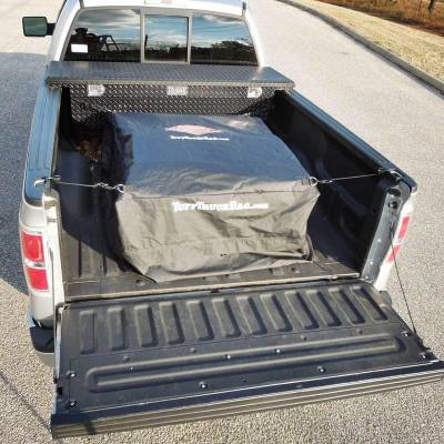 Tuff Truck Bag - Tuff Truck Bag TTB-B Waterproof Truck Bed Cargo Bag Carrier - Black