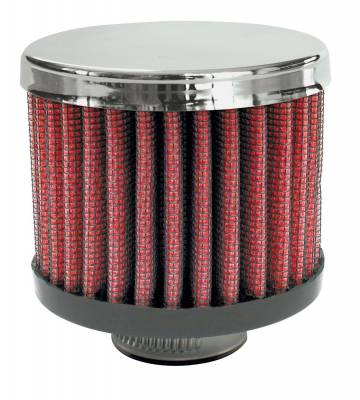 "Airaid - Airaid 775-141 Crankcase Breather Filter 1"" ID - Clamp On 3.0"" OD 2.5"" Tall"