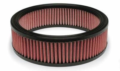 "Airaid - Airaid 801-095 10""x8""x2.5"" Performance Replacement Air Filter Red Dry Filter"