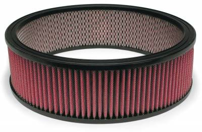 """Airaid - Airaid 801-375 14"""" x 4"""" Performance Replacement Air Filter Red Dry Filter"""