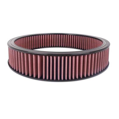 "Airaid - Airaid 801-403 Round Performance Air Filter; 16""OD x 3.0"" H; Red Dry Filter"