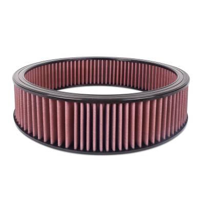 """Airaid - Airaid 801-404 Round Performance Air Filter; 16""""OD x 4.0"""" H; Red Dry Filter"""