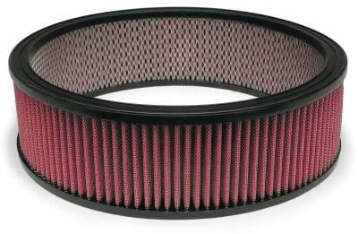 "Airaid - Airaid 800-375 14"" x 4"" Performance Replacement Air Filter Red Oiled Filter"