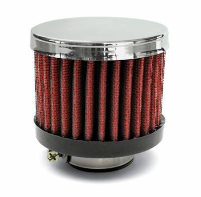 "Airaid - Airaid 775-490 Crankcase Breather Filter 1.25"" OD - Push On 3.0"" OD 2.5"" Tall"