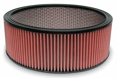 """Airaid - Airaid 801-306 14"""" x 5"""" Performance Replacement Air Filter Red Dry Filter"""
