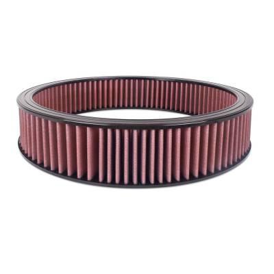 """Airaid - Airaid 800-406 Round Performance Air Filter; 16""""OD x 3.0"""" H; Red Cotton"""