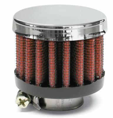 "Airaid - Airaid 775-136 Crankcase Breather Filter .75"" ID - Clamp On 2"" OD 1.5"" Tall"