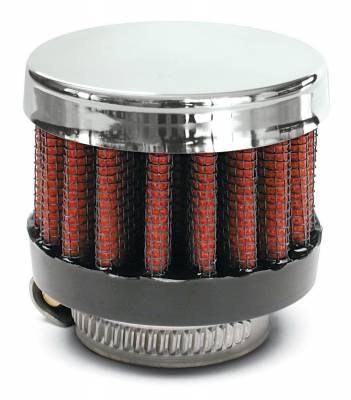 "Airaid - Airaid 775-137 Crankcase Breather Filter 1"" ID - Clamp On 2"" OD 1.5"" Tall"