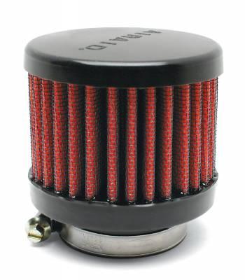 "Airaid - Airaid 771-495 Crankcase Breather Filter 1.25"" OD - Screw On 3.0"" OD 2.5"" Tall"