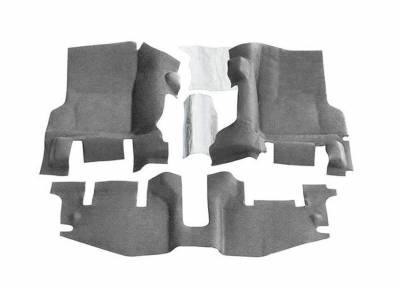 Bed Rug - Bed Rug BTTJ97FNC BedTred Composite Floor Liner-Front