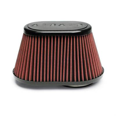 Airaid - Airaid 720-448 Performance Replacement Cold Air Intake Filter Red Oiled Filter