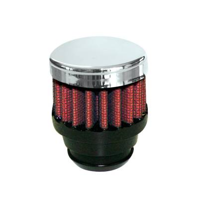 "Airaid - Airaid 775-480 Crankcase Breather Filter 1.25"" OD - Push On 2"" OD 1.5"" Tall"