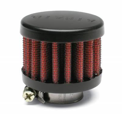 "Airaid - Airaid 770-136 Crankcase Breather Filter .75"" ID - Clamp On 2"" OD 1.5"" Tall"