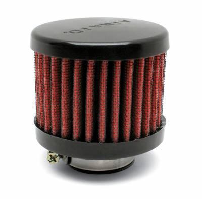 "Airaid - Airaid 770-145 Crankcase Breather Filter 1.5"" ID - Clamp On 3.0"" OD 2.5"" Tall"