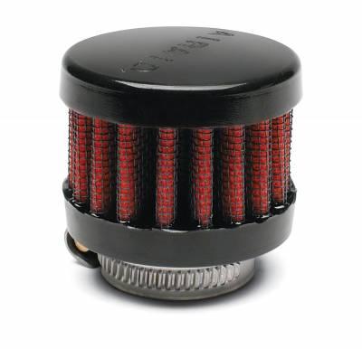 "Airaid - Airaid 771-480 Crankcase Breather Filter 1.25"" OD - Push On 2"" OD 1.5"" Tall"