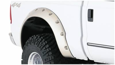 Bushwacker - Bushwacker 20046-02 Cut-Out Rear Fender Flares-Black
