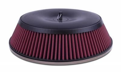 "Airaid - Airaid 801-450 Concept 14"" x 3""H Performance Air Filter Assembly; Dry Filter"