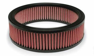 "Airaid - Airaid 801-095 10""x8""x2.5"" Performance Replacement Air Filter Red Dry Filter"