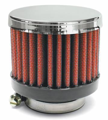 "Airaid - Airaid 775-147 Crankcase Breather Filter 1.75"" ID - Clamp On 3.0"" OD 2.5"" Tall"