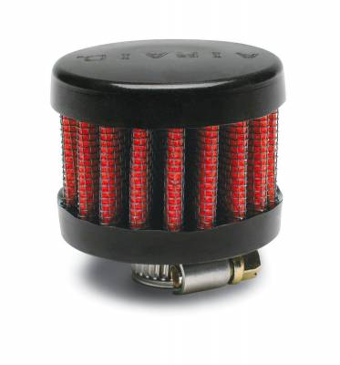 "Airaid - Airaid 770-132 Crankcase Breather Filter .375"" ID - Clamp On 2"" OD 1.5"" Tall"