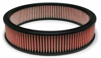 """Airaid - Airaid 801-350 14"""" x 3"""" Performance Replacement Air Filter Red Dry Filter"""