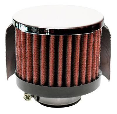 "Airaid - Airaid 772-147 Crankcase Breather Filter 1.75"" ID - Clamp On 3.0"" OD 2.5"" Tall"
