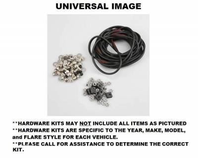 Bushwacker - Bushwacker PK1-40959 Bushwacker Hardware Kit For 40959-02 Chevrolet Silverado