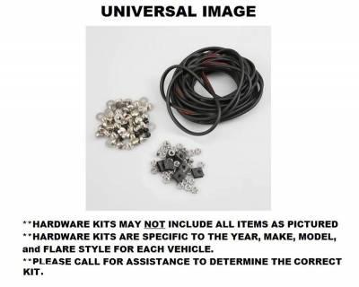 Bushwacker - Bushwacker PK1-40069 Bushwacker Hardware Kit For 40069-02 Chevrolet Silverado