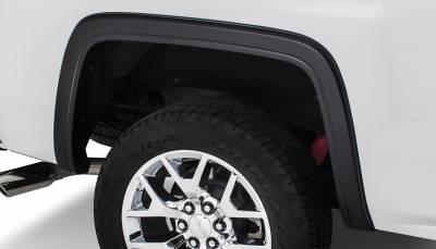 Bushwacker - Bushwacker 40124-02 OE-Style Rear Fender Flares-Black