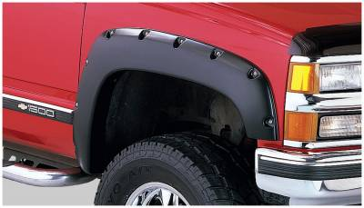 Bushwacker - Bushwacker 40061-02 Pocket Style Front Fender Flares-Black