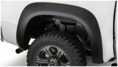 Bushwacker - Bushwacker 30036-02 Extend-a-Fender Rear Fender Flares-Black