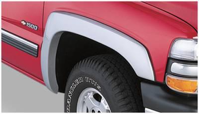 Bushwacker - Bushwacker 40033-02 OE-Style Front Fender Flares-Black